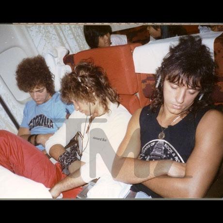 Фото группы в 80-х